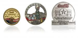 3 veterans pins